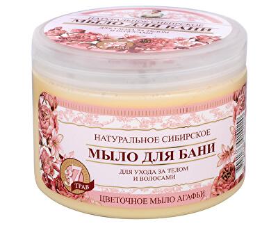 Babushka Agafia Přírodní květinové mýdlo 500 ml