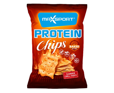 Max sport Protein Chips - grill party 45g