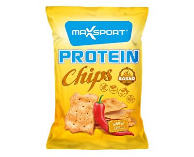 Max sport Protein Chips – sladké chilli 45g