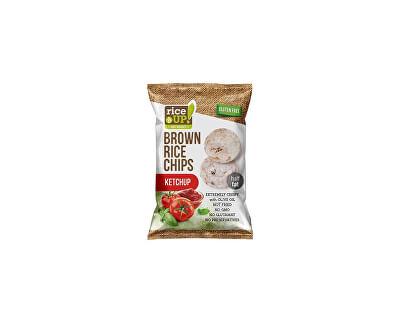 Rej Rýžové chipsy s kečupem 60g
