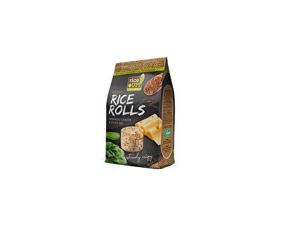 Rej Rýžové minichlebíčky sýr a špenát 50g