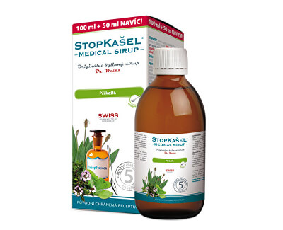 Stopkašel Medical sirup Dr.Weiss 200 ml + 100 ml ZD ARMA