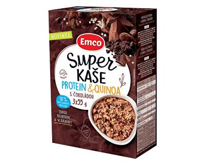 EMCO Super kaše Protein & quinoa s čokoládou 3x55g