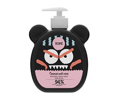 Yope Tekuté mydlo na ruky pre deti s kokosom a mätou 400 ml - ZĽAVA - KRÁTKA EXPIRÁCIA
