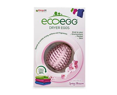 Ecoegg Vajíčko do sušičky prádla s vůní jarních květů 2 ks