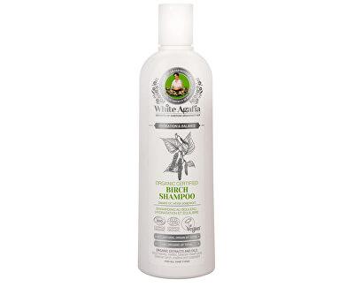 Babushka Agafia White Agafia březový šampon hydratace a rovnováha 280 ml