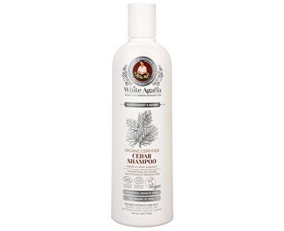 White Agafia cedrový šampon výživa a obnova 280 ml