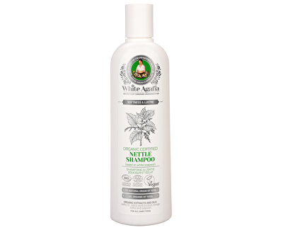 Babushka Agafia White Agafia kopřivový šampon hebkost a lesk 280 ml