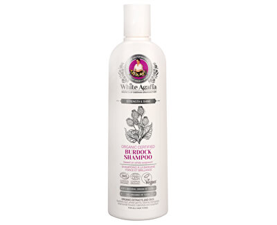 Babushka Agafia White Agafia lopuchový šampon síla a lesk 280 ml