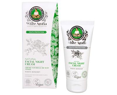 Babushka Agafia White Agafia Youth Protection přírodní noční pleťový krém do 35 let 50 ml