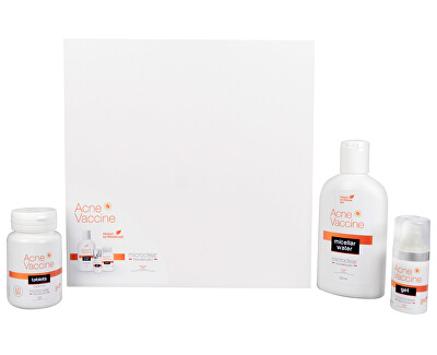 Pharma Vision Acne Vaccine set (Acne Vaccine tablets + Acne Vaccine gél + Acne Vaccine water ZD ARMA )