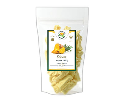 Salvia Paradise Ananás kúsky mrazom sušené<br /><strong>Ananas</strong>