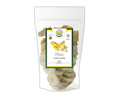 Salvia Paradise Banán plátky mrazem sušené<br /><strong>Banán plátky sušené mrazem - lyofilizované</strong>