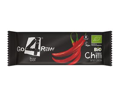 GO4RAW Bio tyčinka CHILLI&COCOA 25g