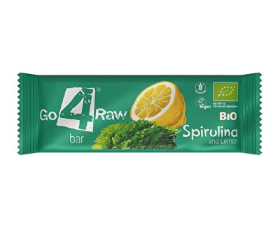 GO4RAW Bio tyčinka SPIRULINA&LEMON 25g