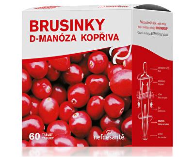 Nef de Santé Brusinky D-Manóza Kopřiva 60 tbl.