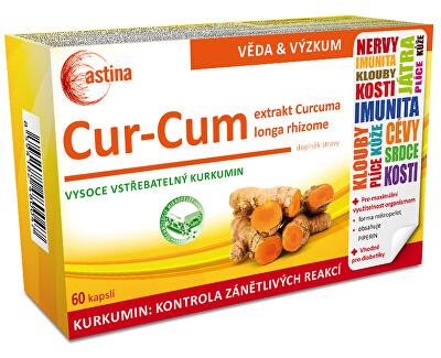 Astina Cur-Cum 60 kapslí - SLEVA - poškozená krabička
