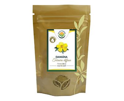 Salvia Paradise Damiána - Turnera diffusa mletá nať 80g<br /><strong>Damiána - Turnera diffusa mletá nať</strong>