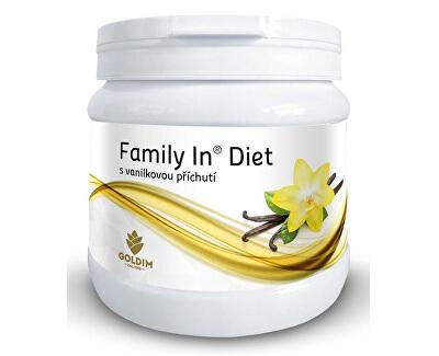 Goldim Family In Diet s vanilkovou příchutí 12 porcí