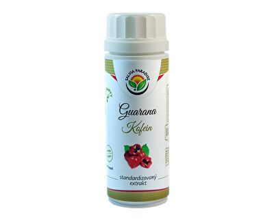 Salvia Paradise Guarana - kofein standardizovaný extrakt 100 kapslí<br /><strong>Guarana extrakt kapsle</strong>
