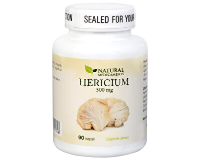 Natural Medicaments Hericium 500 mg 90 kapslí