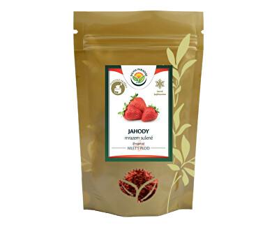 Salvia Paradise Jahody mleté mrazem sušené 50g<br /><strong>Jahody mleté</strong>