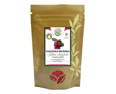 Salvia Paradise Kanadská brusinka mletá mrazem sušená 50g<br /><strong>Kanadská brusinka</strong>