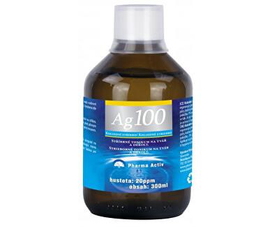 Pharma Activ Koloidní stříbro Ag 100 (20ppm) 300 ml