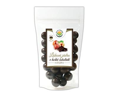 Salvia Paradise Lísková jádra v hořké čokoládě<br /><strong>Lísková jádra v čokoládě</strong>