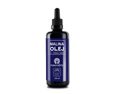 Renovality Malinový olej za studena lisovaný 100 ml