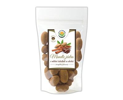 Salvia Paradise Mandle v mléčné čokoládě se skořicí<br /><strong>Mandle se skořicí</strong>