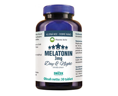 Pharma Activ Melatonin 3 mg Day & Night 30 tablet