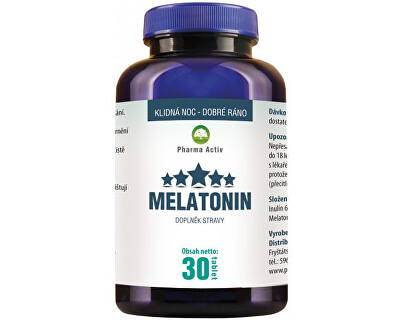 Pharma Activ Melatonin 30 tablet
