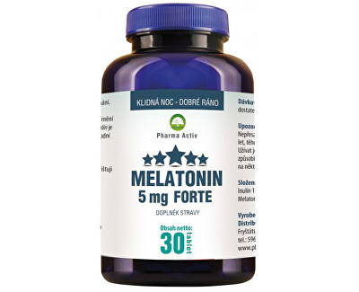 Pharma Activ Melatonin 5mg FORTE 30 tablet
