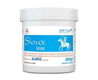 Barny´s Sioux MSM 200 g