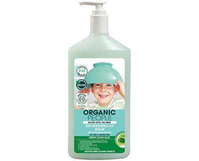 Organic People Mycí balzám z organické aloe vera 500 ml