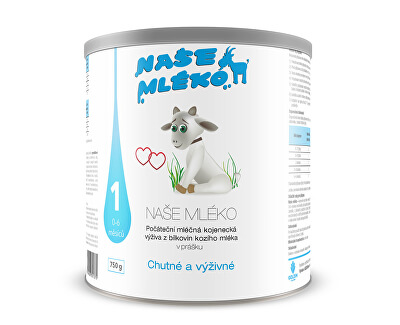 Goldim Naše mléko 1 (0-6 m) 750 g