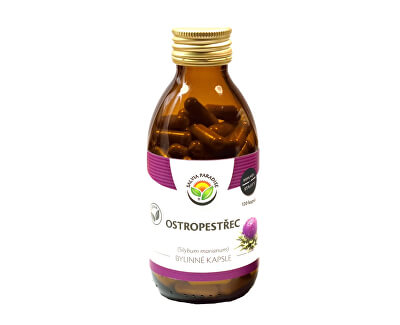 Salvia Paradise Ostropestřec plod kapsle<br /><strong>Ostropestřec kapsle</strong>
