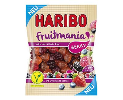 HARIBO Ovocné želé fruitmania berry 85g, min.trv. 1.12.2018