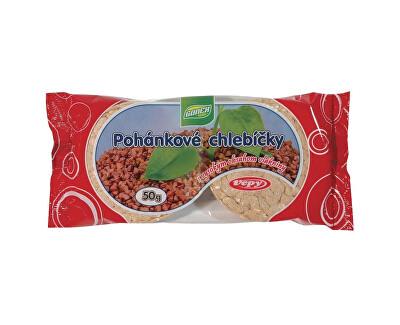 Vepy Pohankové chlebíčky s vysokým obsahem vlákniny 50g
