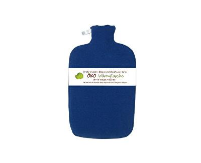 Hugo-Frosch Termofor Eco Classic Comfort s fleecovým obalom - modrý