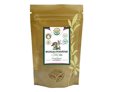 Salvia Paradise Tulsí - bazalka posvátná mletá 100g<br /><strong>Tulsí mletá</strong>