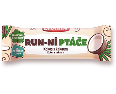 Tyčinka  Run-ní ptáče kokos s kakaem 35g