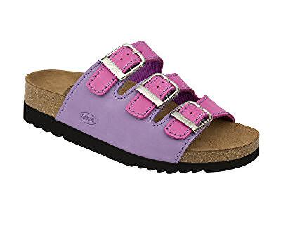 Scholl Zdravotní obuv RIO AD - fuchsiová/lila