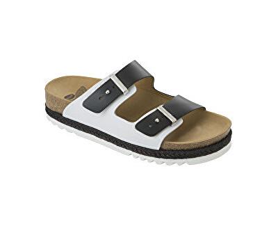 c310c3799e4 Scholl Zdravotní obuv RIO WEDGE AD - černá bílá