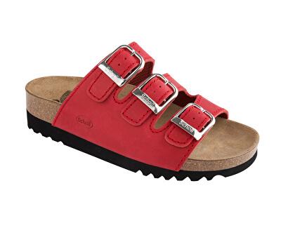 Scholl Zdravotná obuv RIO WEDGE AD - červená