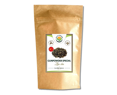 Salvia Paradise Zelený čaj Gunpowder - Zhu Cha<br /><strong>Gunpowder čaj</strong>