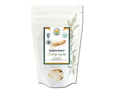 Salvia Paradise Ženšen pravý bílý 6letý krájený BIO<br /><strong>Ženšen bílý krájený</strong>