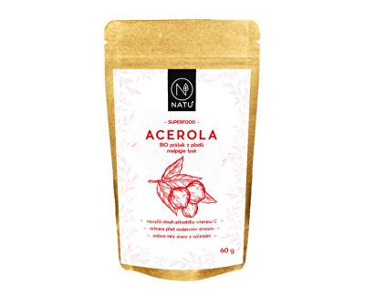 Natu Acerola prášok 80% BIO 60 g