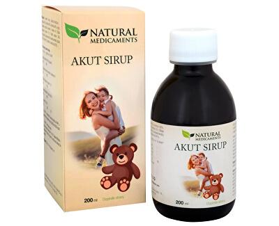 Natural Medicaments Akut sirup 200 ml - ZĽAVA - bez krabičky